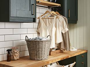 How to build your own utility room laundry station