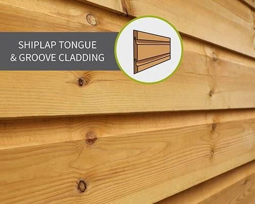 Shiplap Tongue & Groove Cladding