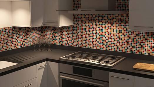 Kitchen Foor & Wall Tiles