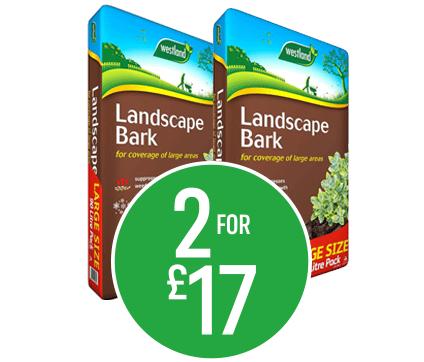 Get 2 for £17 on Westland Landscape Bark 90l