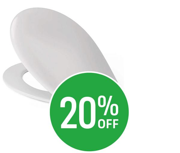 20% off Cedo Soft Close Plastic Toilet Seat
