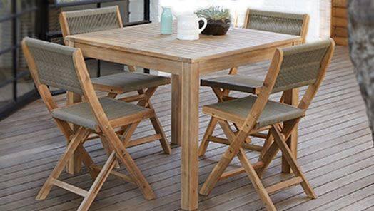 All Wooden Garden Furniture