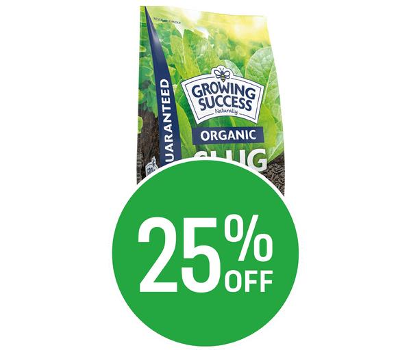 25% off Growing Success Slug Stop Non-Toxic Granules Easy Pour Box