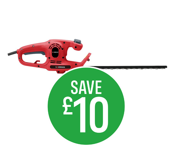 Save £10 - Sovereign 400W Hedge Trimmer 38cm
