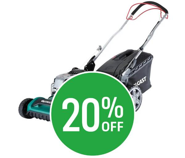 20% off Qualcast 51cm Petrol SelfProp Lawn Mower