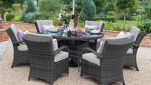 Rattan Garden Table and Chair Sets