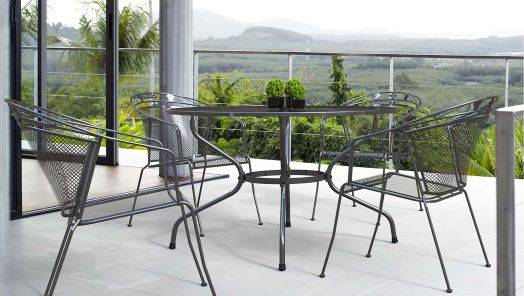 Metal Garden Table and Chair Sets