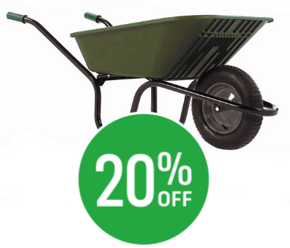20% off Haemmerlin Polypro Wheelbarrow - 90L