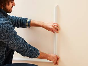 How to panel a wall