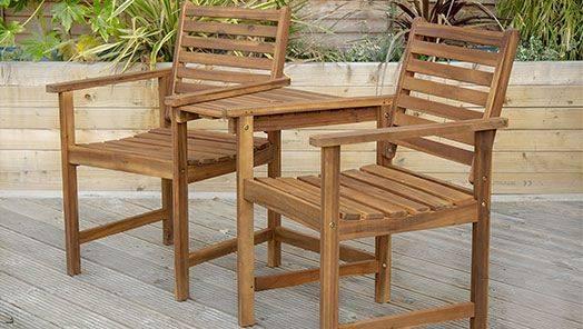 Wooden Companion Seats