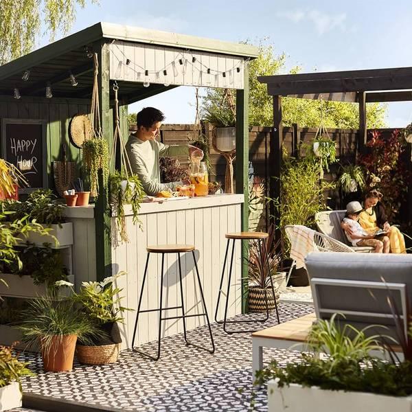Design your own garden bar