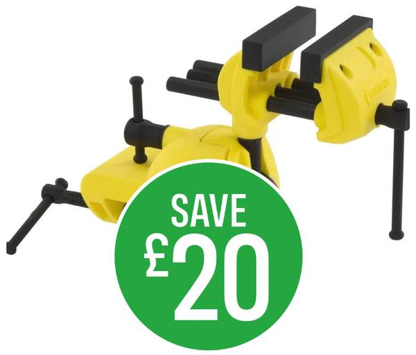 Save £20 on Stanley Multi Angle Hobby Vice
