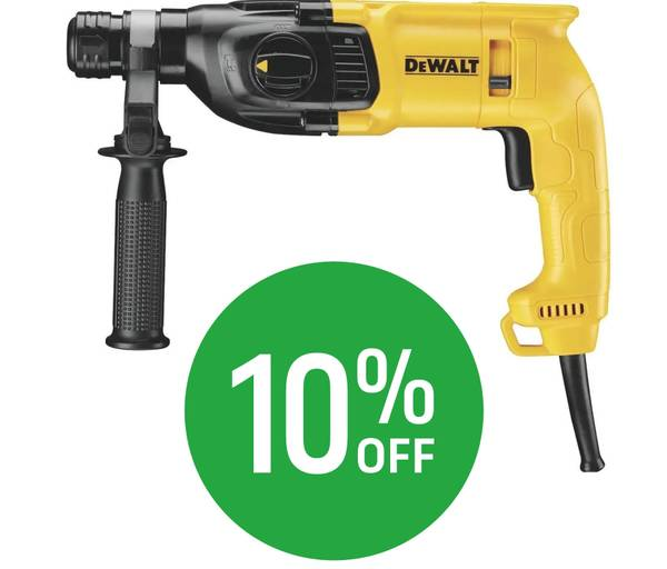 10% off Selected DeWalt Power Tools