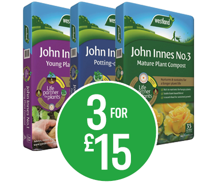 Buy 3 for £12.50 - John Innes Compost 35L