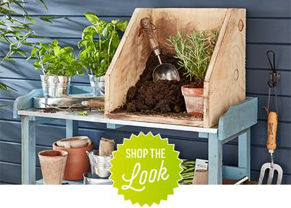 Shop the look - shed