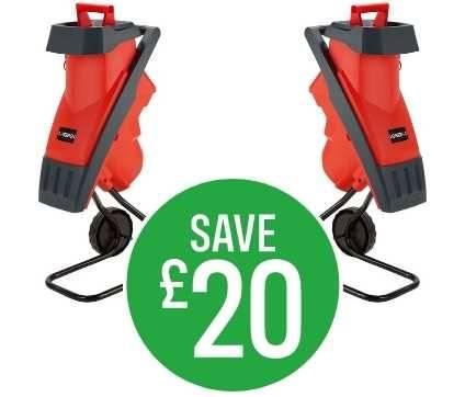 Save £20 Sovereign 2400W Impact Shredder