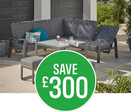 25% off Magna Corner Sofa Set