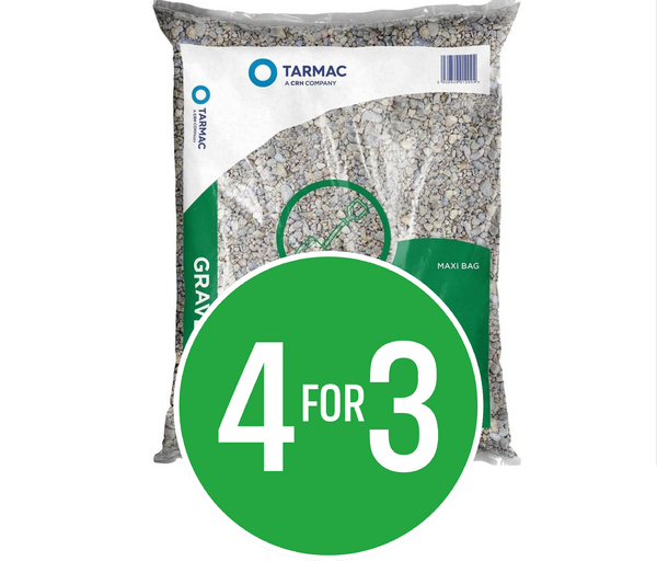 4 for 3 on IPP Tarmac Gravel 20mm Maxi Bag