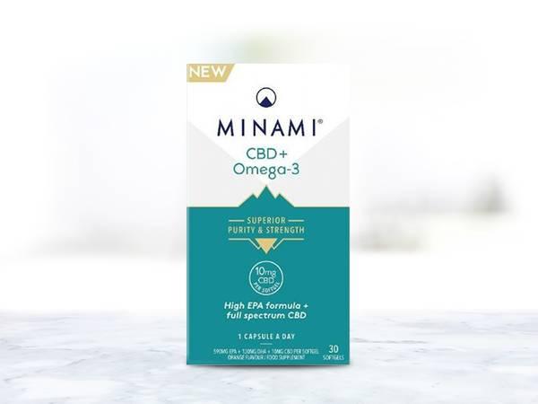 MINAMI CBD+Omega-3 capsules