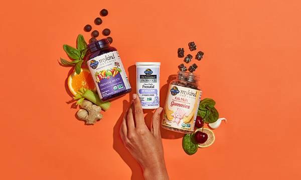 Garden of Life Prenatal Multivitamin Chewables, Prenatal Capsules, and Kids Multivitamins Gummies