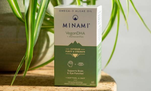 MINAMI VeganDHA omega-3 capsules