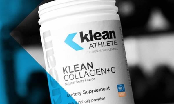 Klean Athlete Collagen+C supplement
