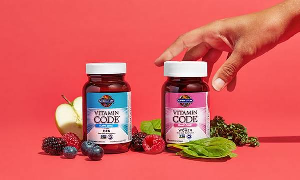 Garden of Life vitamin code multivitamins for men and women