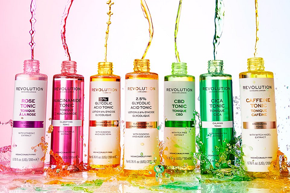 Revolution Beauty Skincare Tonics