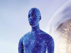 Image of a blue figure