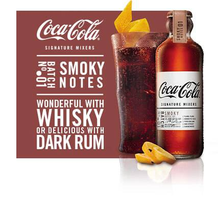 Picture of Smoky Notes Coca-Cola Signature mixer drink