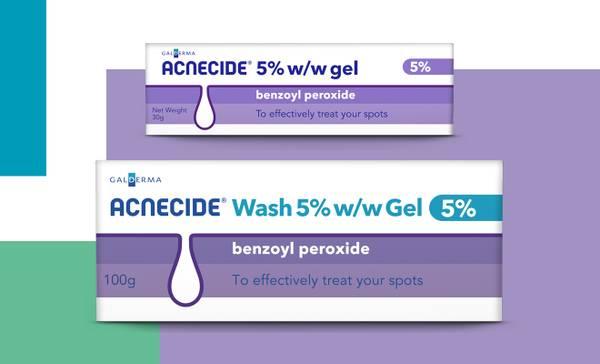 Acnecide pharmacy range - Acnecide gel and Acnecide wash gel