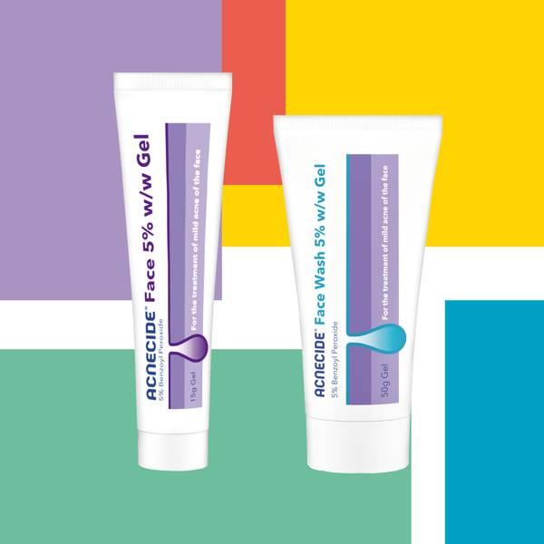 Acnecide medicinal treatments - Acnecide Face Gel Treatment and Acnecide Face Wash Treatment