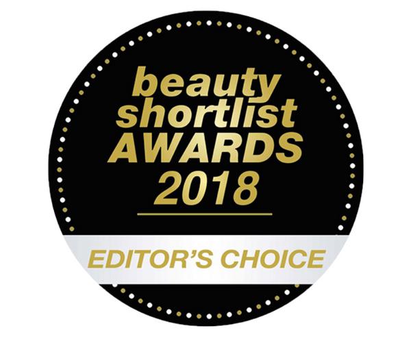beauty shortlist AWARDS 2018 EDITOR'S CHOICE
