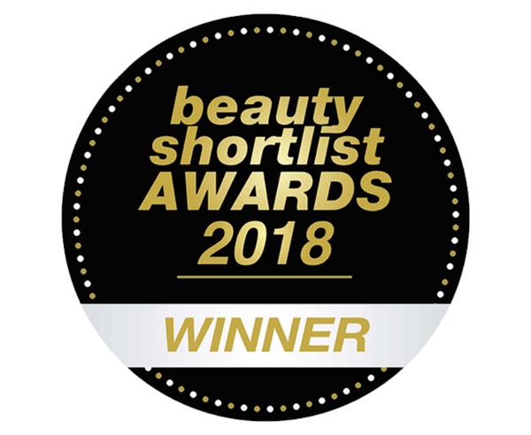 beauty shortlist AWARDS 2018 WINNER