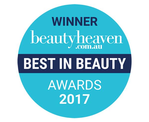 WINNER beautyheaven.com.au BEST IN BEAUTY AWARDS 2017
