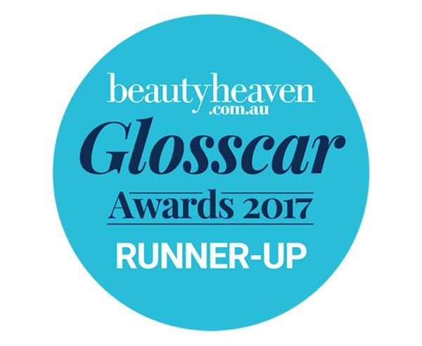 beautyheaven.com.au Glosscar Awards 2017 RUNNER-UP