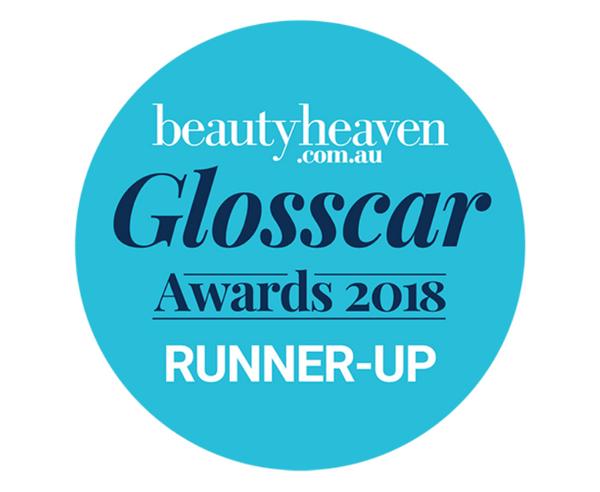 beautyheaven.co.au Glosscar Awards 2018 RUNNER-UP