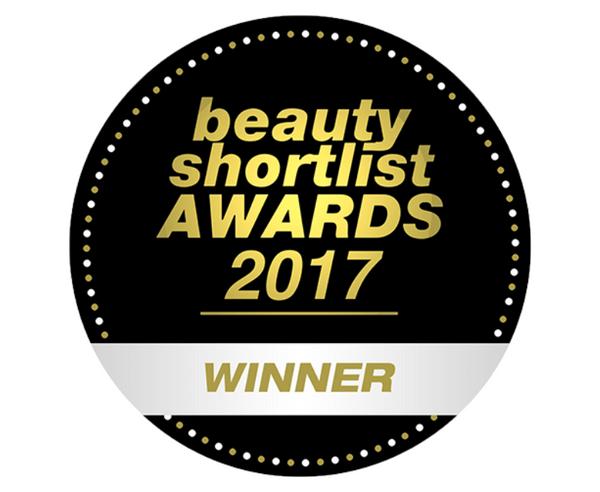 beauty shortlist AWARDS 2017 WINNER