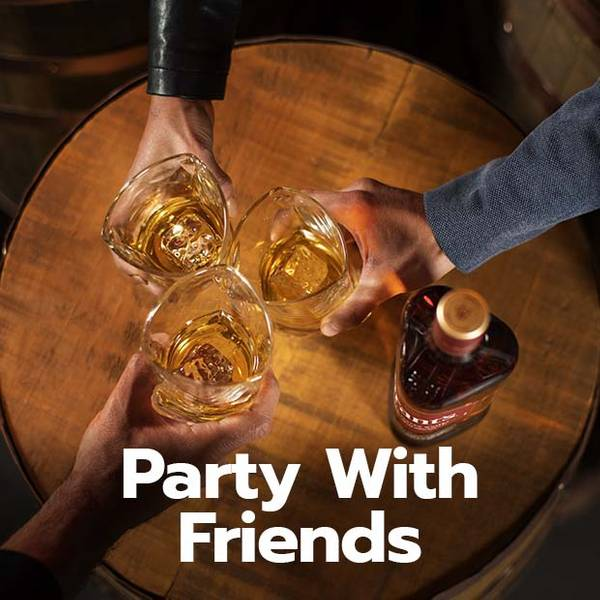 Party with friends