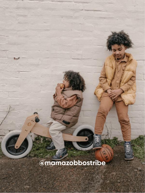 Two Boys Playing - Visit Kickers Kids Instagram