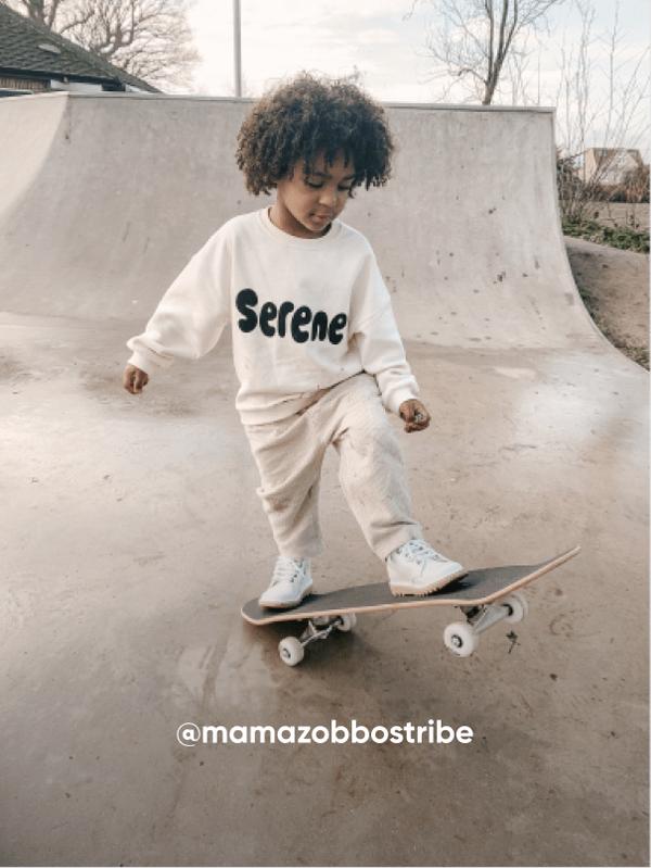 Boy on Skateboard - Visit Kickers Kids Instagram