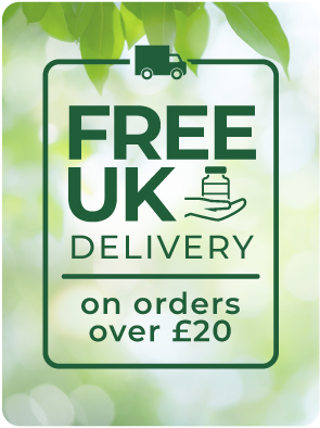 Free delivery on all UK orders over £20