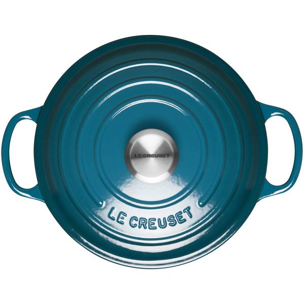 Deep teal - Shop the vibrant cast iron and stoneware collection.