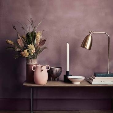 Free Adapter when you buy the Mynte Marble Iron Table Lamp!