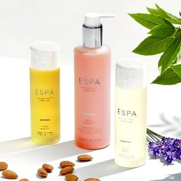 Free ESPA Soothing Pulse Point Oil when you spend £80 on the range!