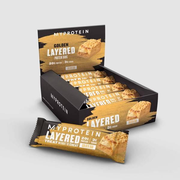 Golden Layered bars
