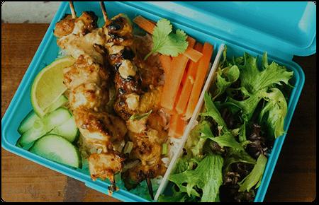 Chicken Satay Meal Prep