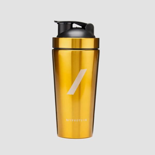 Golden metal shaker