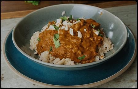 Peanut Butter Chicken Curry recipe