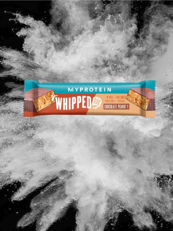 Whipped Duo's Schokolade Erdnuss